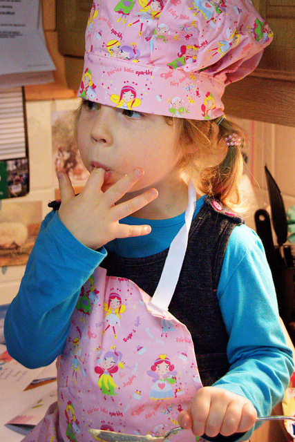 Fabulous Families Child cooking